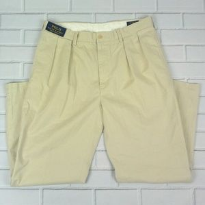 NWT Polo Ralph Lauren Chino Pants Size 36X30 Creme